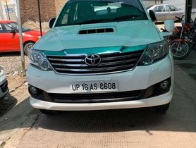 Used Toyota Fortuner 2014 AT for sale in Chandigarh