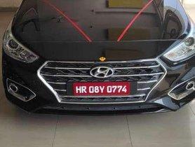 Used 2018 Hyundai Verna AT for sale in Karnal