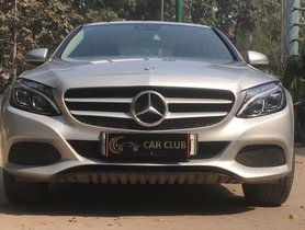 Used 2014 Mercedes Benz C-Class 220 CDI AT car at low price in New Delhi