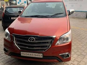 Used Toyota Innova 2008 MT for sale in Chennai
