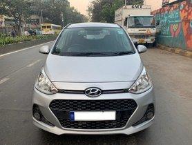 Hyundai Grand i10 1.2 Kappa Sportz Option MT 2017 in Mumbai