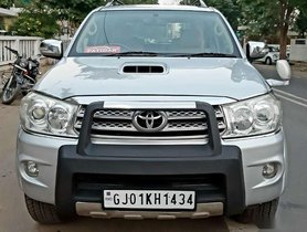 Used Toyota Fortuner 3.0 4x4 Manual, 2011, Diesel MT for sale in Ahmedabad