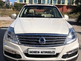 Used Mahindra Ssangyong Rexton RX7 AT car at low price in Indore