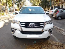 Toyota Fortuner 2.8 2WD MT 2017 for sale in Bangalore