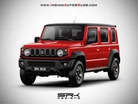 New Maruti Gypsy to be a 5-door Version of Suzuki Jimny Sierra, Launch by Year-end