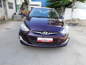 Used 2013 Hyundai Verna 1.6 SX MT for sale in Bangalore