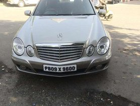 Used 2007 Mercedes Benz E Class AT for sale in Jalandhar