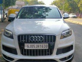 Used Audi Q7 3.0 TDI quattro AT 2014 in Ahmedabad