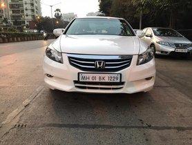 2013 Honda Accord 2.4 AT for sale at low price in Mumbai