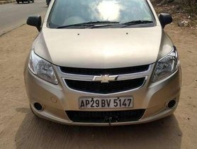 Used Chevrolet Sail 1.2 Base 2013 MT for sale in Hyderabad