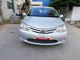 2011 Toyota Etios Liva 1.2 G MT for sale in Bangalore