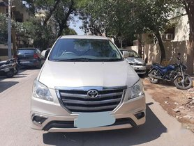 Toyota Innova 2.5 ZX 7 STR BS-IV, 2014, Diesel MT for sale in Hyderabad