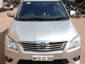 Used 2013 Toyota Innova 2.5 VX 8 STR MT for sale in Mumbai