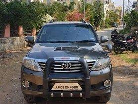 Toyota Fortuner 2.8 4X2 Manual, 2012, Diesel MT in Hyderabad