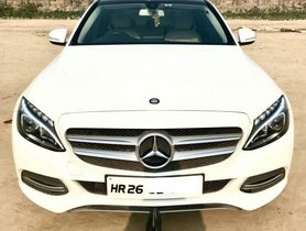 2015 Mercedes Benz C-Class C 220 CDI BE Avantgare AT for sale at low price in New Delhi