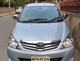Used Toyota Innova 2009 MT car at low price in Mumbai