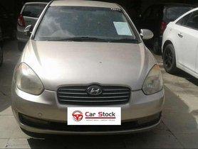 2008 Hyundai Verna CRDi AT for sale at low price in Hyderabad