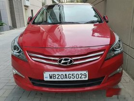 Used 2015 Hyundai Verna 1.6 SX VTVT MT car at low price in Kolkata