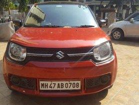 Used 2017 Maruti Suzuki Ignis 1.2 AMT Delta AT car at low price in Mumbai