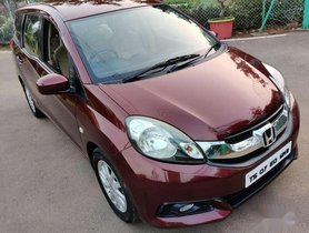 Used Honda Mobilio V i-DTEC 2015 MT for sale in Hyderabad
