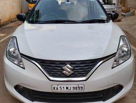 2016 Maruti Suzuki Baleno Zeta MT for sale in Bangalore
