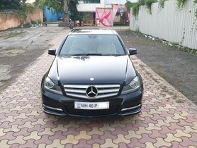 2011 Mercedes Benz C-Class C 200 CGI Avantgarde AT for sale at low price in Pune