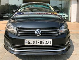 Used 2016 Volkswagen Vento 1.5 TDI Highline AT car at low price in Ahmedabad