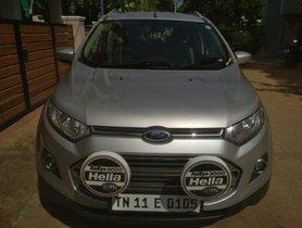 Ford EcoSport 1.5 Diesel Titanium 2013 MT for sale in Chennai