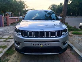 Used 2018 Jeep Compass 2.0 Limited Option MT for sale in Bangalore