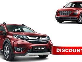 Rs 1 Lakh Discount on Honda BR-V Diesel, Becomes Cheaper than Hyundai Venue