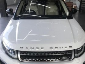 Used 2016 Land Rover Range Rover Evoque HSE AT car at low price in Dehradun