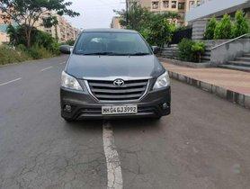 Used 2014 Toyota Innova MT car at low price in Mumbai