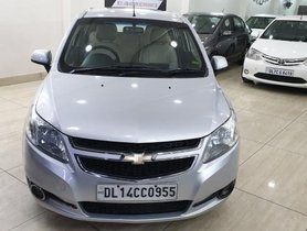 Used 2015 Chevrolet Sail Hatchback Petrol LS ABS MT for sale in New Delhi