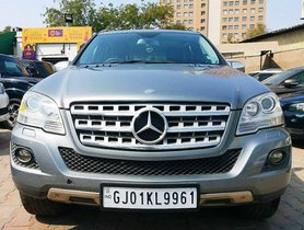 Used 2010 Mercedes Benz M Class ML 350 4Matic AT car at low price in Ahmedabad