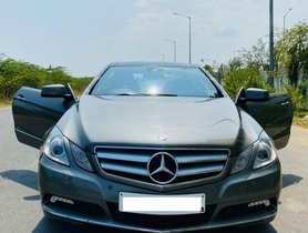 Used 2012 Mercedes Benz E-Class 2009-2013 E350 Coupe AT for sale in Chennai