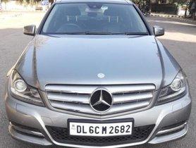 2012 Mercedes Benz C-Class C 200 CGI Avantgarde AT for sale in New Delhi