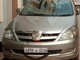 2008 Toyota Innova MT for sale at low price in Visakhapatnam