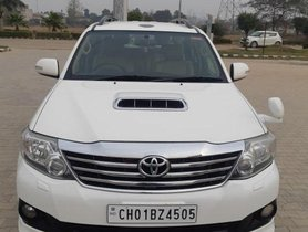2014 Toyota Fortuner 4x2 AT for sale at low price in Chandigarh