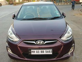 Hyundai Verna Fluidic 1.6 VTVT SX Opt Automatic, 2012, Petrol AT in Mumbai