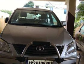 Used 2012 Toyota Innova MT car at low price in Nellore