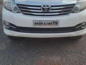 Toyota Fortuner 2015 AT for sale in Gurgaon