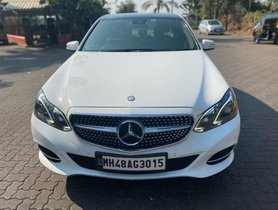 2014 Mercedes Benz E Class AT for sale at low price in Mumbai