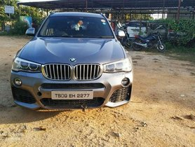 Used 2015 BMW X3 xDrive 20d Expedition AT for sale in Hyderabad