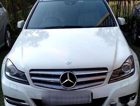 Used 2012 Mercedes Benz C-Class AT car at low price in Kolkata