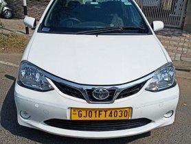 2018 Toyota Platinum Etios GD MT in Ahmedabad