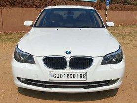 Used BMW 5 Series 520d Sedan AT 2010 in Ahmedabad