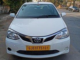 Used 2018 Toyota Platinum Etios MT car at low price in Ahmedabad