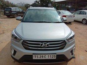 Hyundai Creta 1.6 SX 2017 AT for sale in Hyderabad