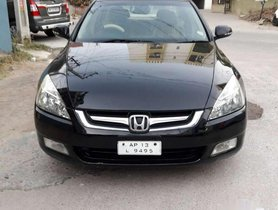 2007 Honda Accord MT for sale in Hyderabad