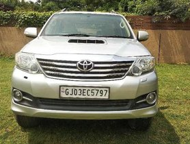 Used 2012 Toyota Fortuner AT car at low price in Ahmedabad